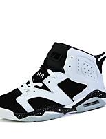 Zapatos Baloncesto Semicuero Negro / Amarillo / Blanco Mujer / Hombre