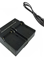 FM500H Digital Camera Battery  Dual Charger for Sony A57 A58 A65 A77 A99 A550 A560 A580 A900 FM50 FM500H F550