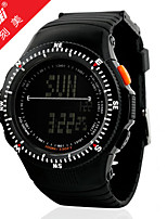 Sports Watch Men's / Ladies' / Unisex LCD / Altimeter / Compass / Pulse Meter / Thermometer / Calendar / Dual Time Zones / Sport Watch
