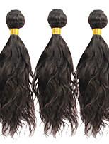 Bestnote peruanisches reines Haar der natürlichen Welle 3Bundles 8-30inch unverarbeitetes Menschenhaar Webart 100g / pcs