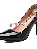 Zapatos de mujer-Tacón Stiletto-Tacones / Puntiagudos-Tacones-Boda / Vestido / Fiesta y Noche-Cuero Patentado / Materiales Personalizados-