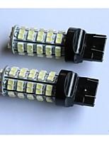 t20 / t25 / 1156/1157 3528-68smd queue de voiture feu stop tour feu de recul lampe côté marqueur lumière rouge blanc bleu jaune