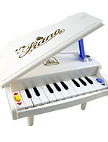 Little Piano ABS White Music Toy For Kids
