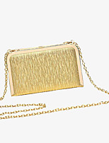 Women Other Leather Type Minaudiere Shoulder Bag / Evening Bag-Gold / Silver / Black