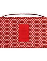 Rangement pour ValiseForRangement de Voyage Tissu Marron / Bleu / Vert / Rouge / Blanc 22*20*5cm