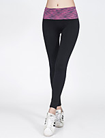 Pantalones de yoga Prendas de abajo / Pantalones / ChándalTranspirable / Alta transpirabilidad / Secado rápido / Compresión / Reductor