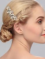 Damen Kopfschmuck Hochzeit / Besondere Anlässe / Freizeit / Büro  & Karriere / im Freien Haarkämme Künstliche PerleHochzeit / Besondere