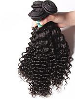 Malaysian Virgin Hair Deep Wave 3 Bundles Total 300 Grams Unprocessed Virgin Human Hair Weave Extensions