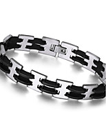 2016 Fashion Cool Street Style Titanium steel Thick Rock Chain link Bracelet Men