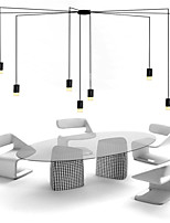 Cord 500cm Northern Europe Contracted And Geometric Cord  design LED  Pendant Light office,Showroom,Living Room