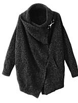 Damen Kolani - Einfach Langarm Baumwolle