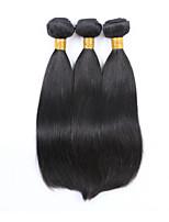 3PCS Malaysian Straight Hair Human Hair Weaves Natural Color 8-26 inch Virgin Hair