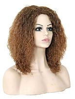synthétique de la mode des perruques multicolores perruques synthétiques bouclés