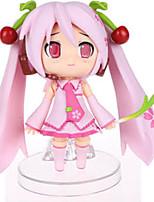 Vocaloid Sakura Miku PVC One Size Figures Anime Action Jouets modèle Doll Toy
