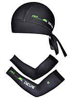 6 Colors Outdoor Bike Cycling Bandana/Cap+Bicycle Arm Warmers/Arm Sleeves S-XXL Riding Accessory