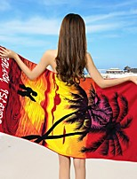 Drap de plage-Impression réactive- en100% Polyester-70*150cm(27.5