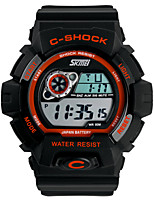 Sports Watch Men's / Ladies' / Couple's / Unisex LCD / Calendar / Water Resistant / Dual Time Zones / Soloar / Sport Watch Digital Digital