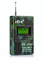 RK-560 Walkie Talkie Handheld Portable Digital CTCSS DCS Frequency Counter Meter Tester 50MHz-2.4GHz