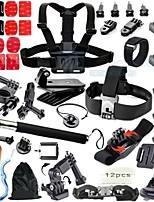 46 Acessórios GoPro Acessório Kit ParaGopro Hero 1 / Gopro Hero 2 / Gopro Hero 3 / Gopro Hero 3+ / Gopro 3/2/1 / Sport DV / Todos /