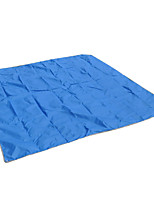 6 Holes Oxford Cloth Mat Camping Rainproof Sunshade Cloth