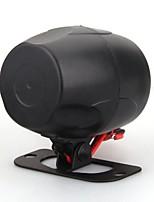 universales van coche automático de alarma de sirena de aviso bicicleta cuerno negro de 12 V CC