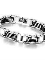 Fashion Men Jewelry Stainless Steel Titanium Steel Bracelet and Bangle