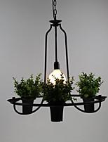 40W Rustico Stile Mini Pittura Plastica Luci PendentiSalotto / Camera da letto / Sala da pranzo / Sala studio/Ufficio / Camera dei