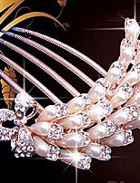 Damen Kopfschmuck Hochzeit / Besondere Anlässe / Freizeit Haarkämme / Haar-Werkzeug Künstliche PerleHochzeit / Besondere Anlässe /