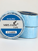 Blue Double Sided Medical Tape Use Strong Adhesives Width 1.9 CM Length 274 CM For Tape Hair Extensions/ Skin Weft Hair