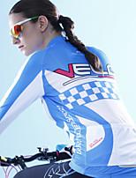Top-Ciclismo-Per donna-Maniche lunghe-Traspirante / wicking / Materiali leggeri Primavera / Estate / Autunno Anelastico M / L / XL / XXL