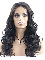 Beautiful Super Wave Natural Color Human Hair Lace Front Wig /Full Lace wig