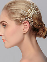 Women's Imitation Pearl Headpiece-Wedding / Special Occasion / Casual / Office & Career / Outdoor Hair Combs 1 Piece