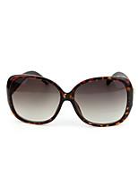 Sunglasses Women's Fashion Anti-UV / 100% UV400 Oversized Tortoiseshell Sunglasses