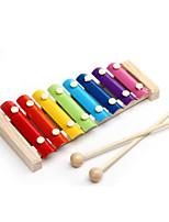 Hand Instrument Colourfu Music Toy Wood