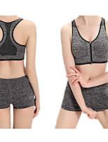 Women Seamless Adjustable Shoulder Strap Sports Bras Stretch Workout Fitness Bras