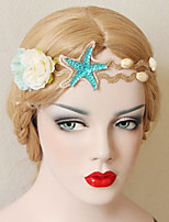 The Starfish Flowers Shells Headdress Decoration