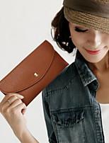 Bi-fold (due scomparti)-Porta carte di credito / Porta assegni-Donna-PU / Poliestere-Multicolore
