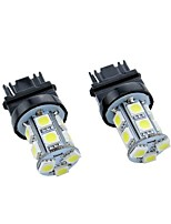 2PCS Sonata 12V 6W 5050 13SMD 3156 Car LED Turn Signal Light, Car Brake Light with Bright Lightness