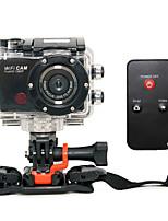 Sports Camera 5MP 3264 x 2448 4x CMOS 32 GB H.264 English 50 M Anti-Shock / WiFi / Smile DetectionBike/Cycling / Radio Control /