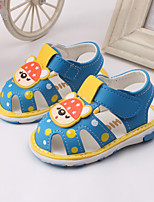 Baby Shoes Dress / Casual Leather Sandals Blue / Red