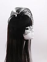 Women's / Flower Girl's Rhinestone / Tulle / Organza Headpiece-Wedding / Special Occasion / Casual Fascinators 1 Piece