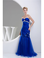 Formal Evening Dress Trumpet/Mermaid Sweetheart Floor-length Tulle