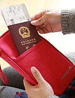 Fashion Portable Fabric Passport Wallet/Travel Storage for Travel 26*15*2cm