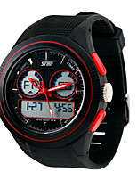 orologio sportivo Da uomo LCD / Calendario / Cronografo / Resistente all'acqua / Due fusi orari / Orologio sportivo Digitale Digitale