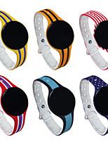 más nuevo bluetooth colorido de la pulsera de la pulsera inteligente inteligente de seguimiento de la aptitud del monitor de dormir