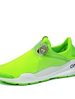 Scarpe Donna-Sneakers alla moda / Scarpe da ginnastica-Tempo libero / Casual / Sportivo-Comoda / Chiusa-Piatto-Tessuto-Nero / Blu / Verde