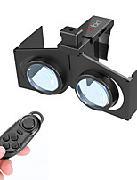 Virtual Reality 3D Glasses + Bluetooth Controller for 4.0~6.0'' Smart Phones - Black