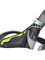 Pochete(Preto,Nailom / Grade)Seca Rapidamente / Lista Reflectora / Bolsa Kettle Embutida / Respirável / CompactoAcampar e Caminhar /