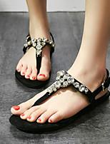 Women's Shoes Heel Flip Flops Sandals Party & Evening / Dress / Casual Black / Red/839