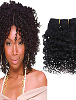 1Pcs/Lot 8inch Brazilian Virgin Hair Natural Black Hair Unprocessed Human Hair Weave Bundles